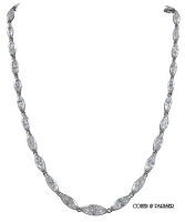 Art Deco Diamond Marquise necklace