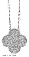 Van Cleef and Arpels Magic Alhambra necklace