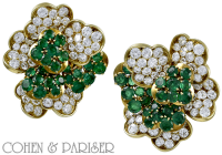 French diamond and Emerald suite