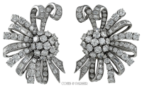 Van Cleef and Arpels diamond earrings